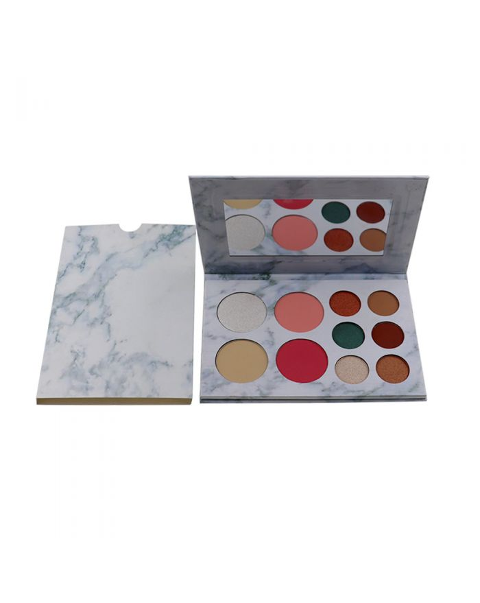 Makeup 6 eye shadow + 2 blush + 2 powder