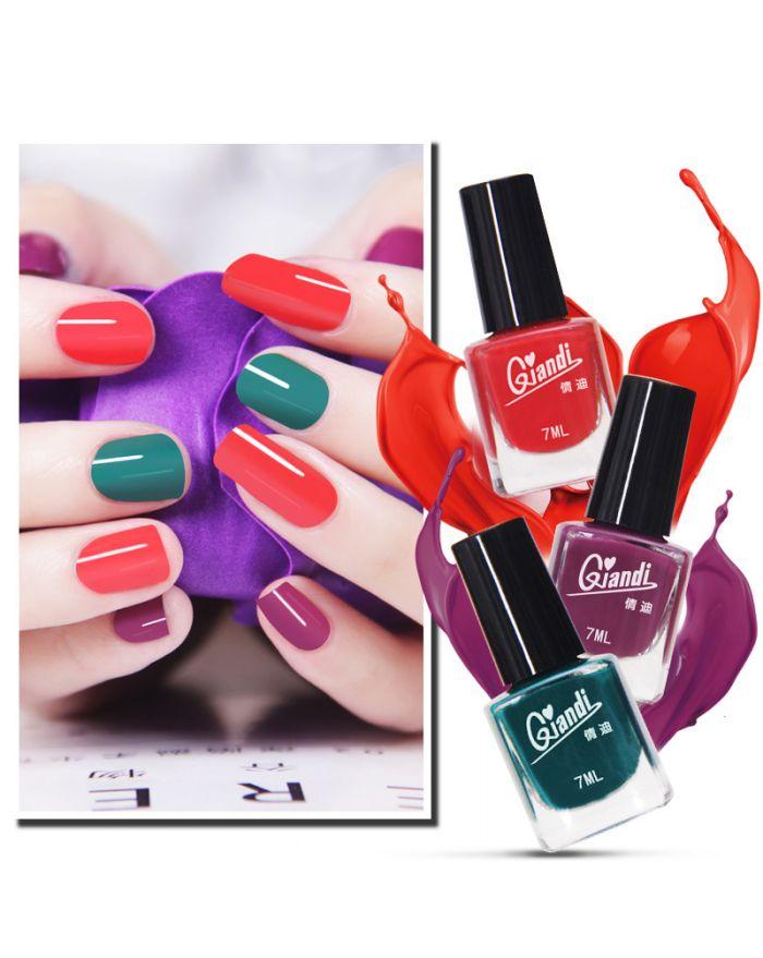 3 pcs nail polish set