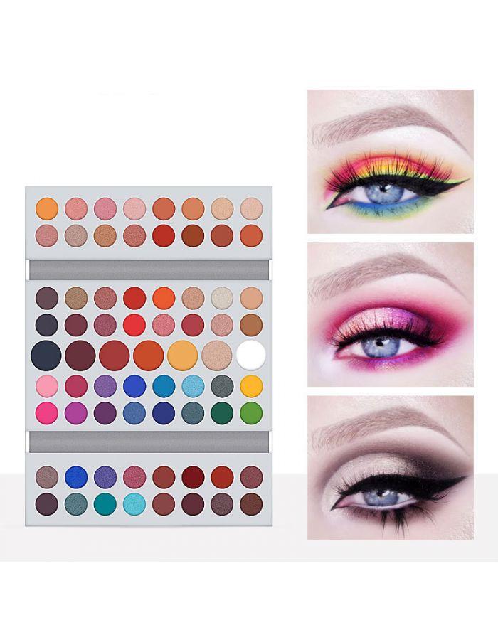 71 color eyeshadow palette