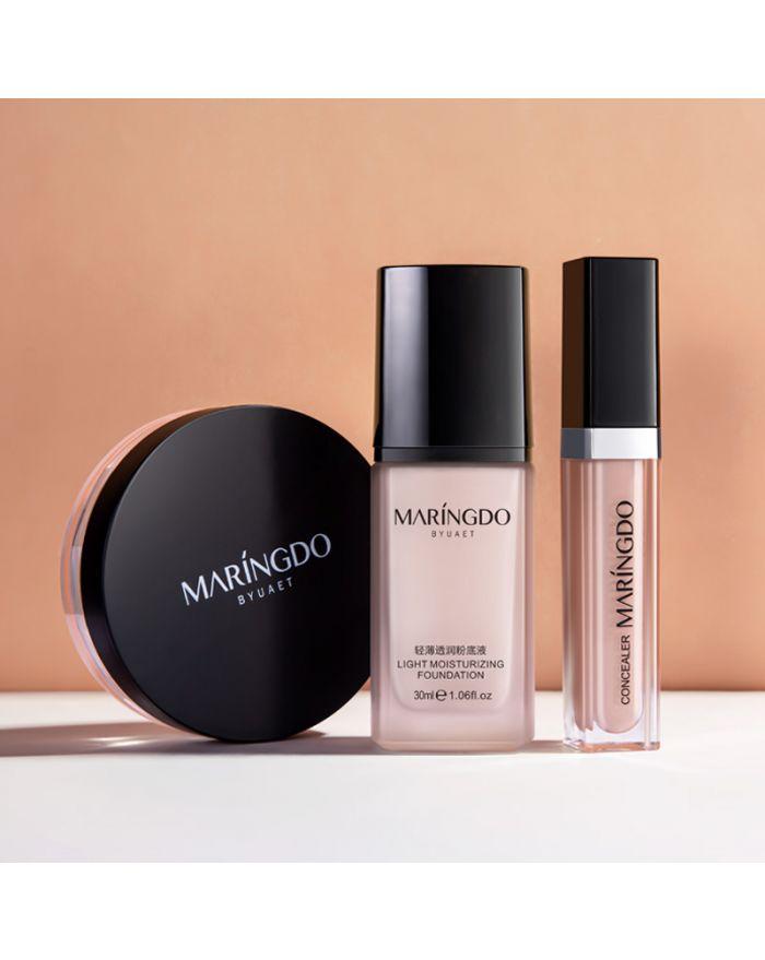 Makeup boundles( foundation+concealer+loose powder)