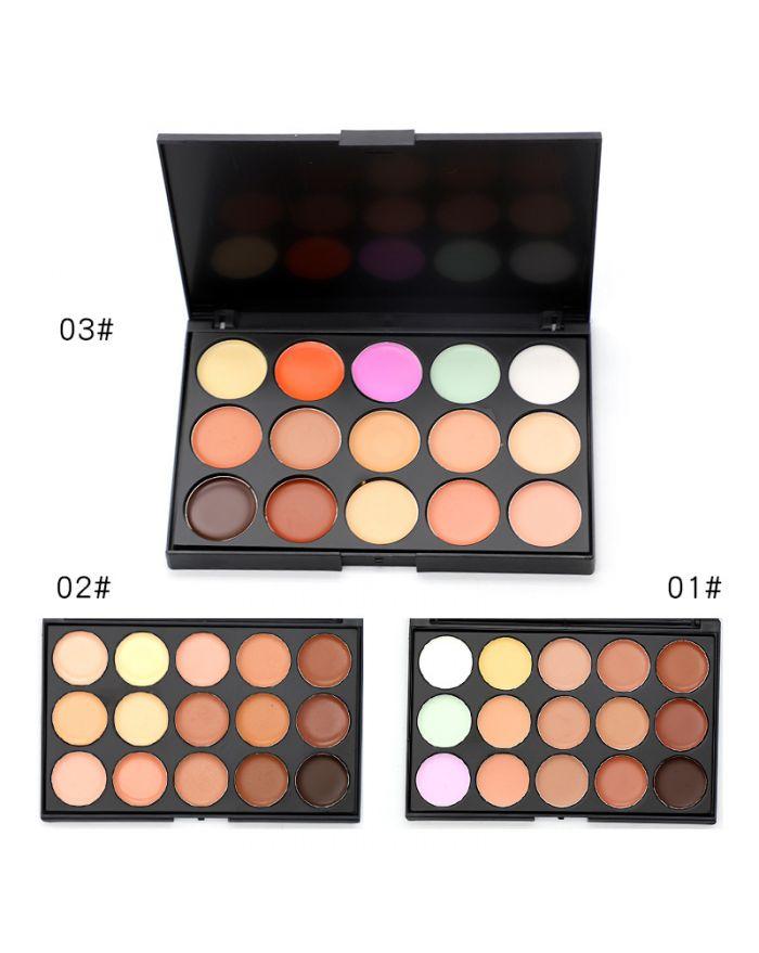Cosmetics 15-color concealer