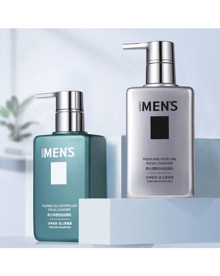 Men's facial cleanser