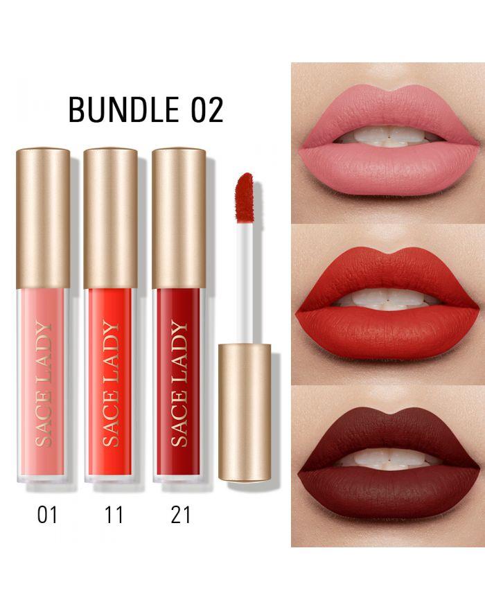 3pcs Lip Glaze Set