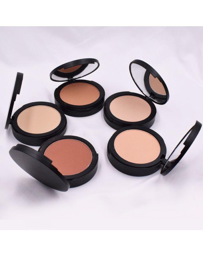 5 colors compact powder