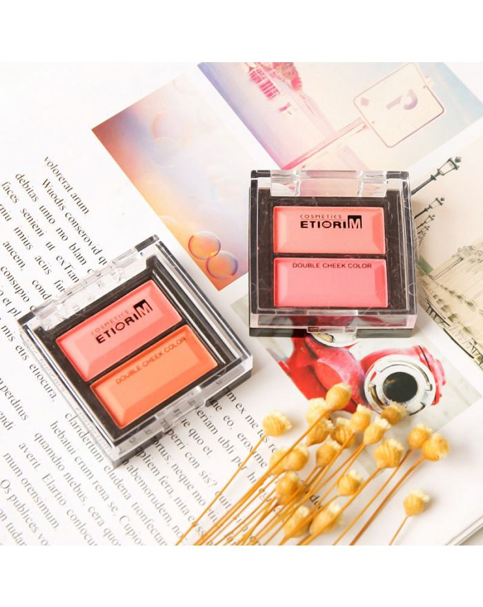 Two-color national blush
