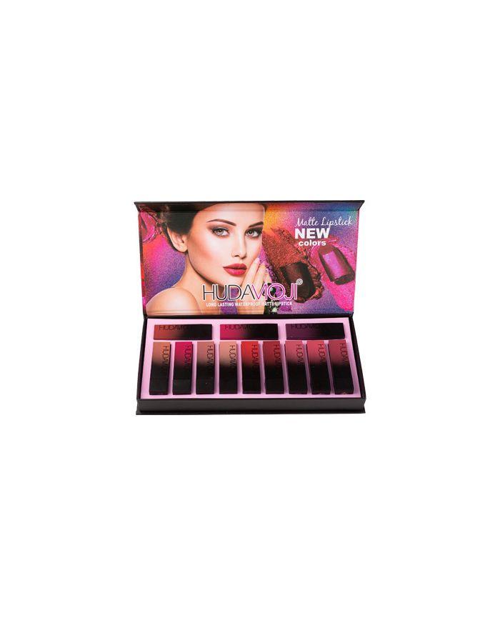 12 color lipstick gift box