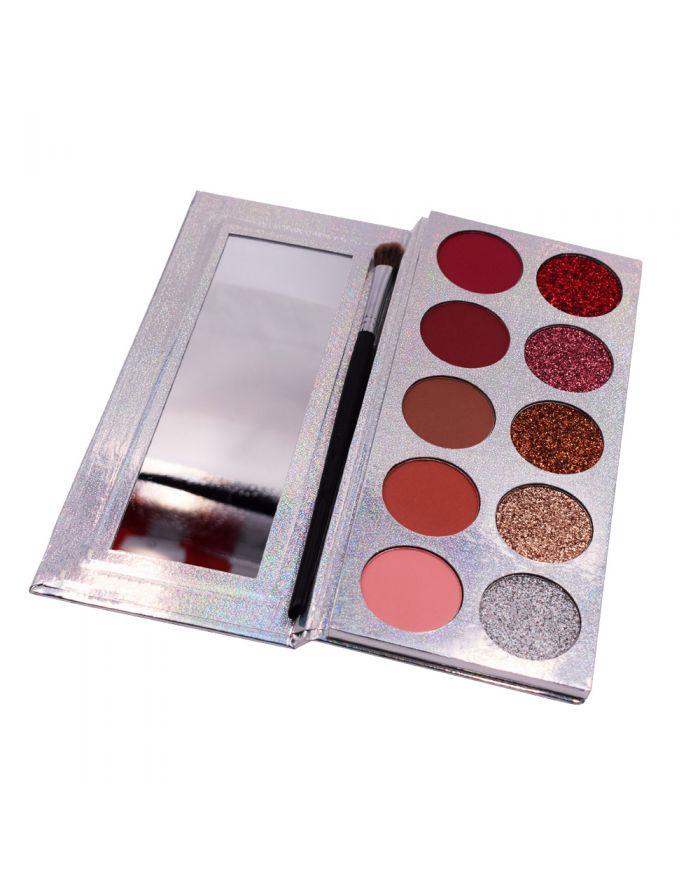 OEM logo 10 color eyeshadow