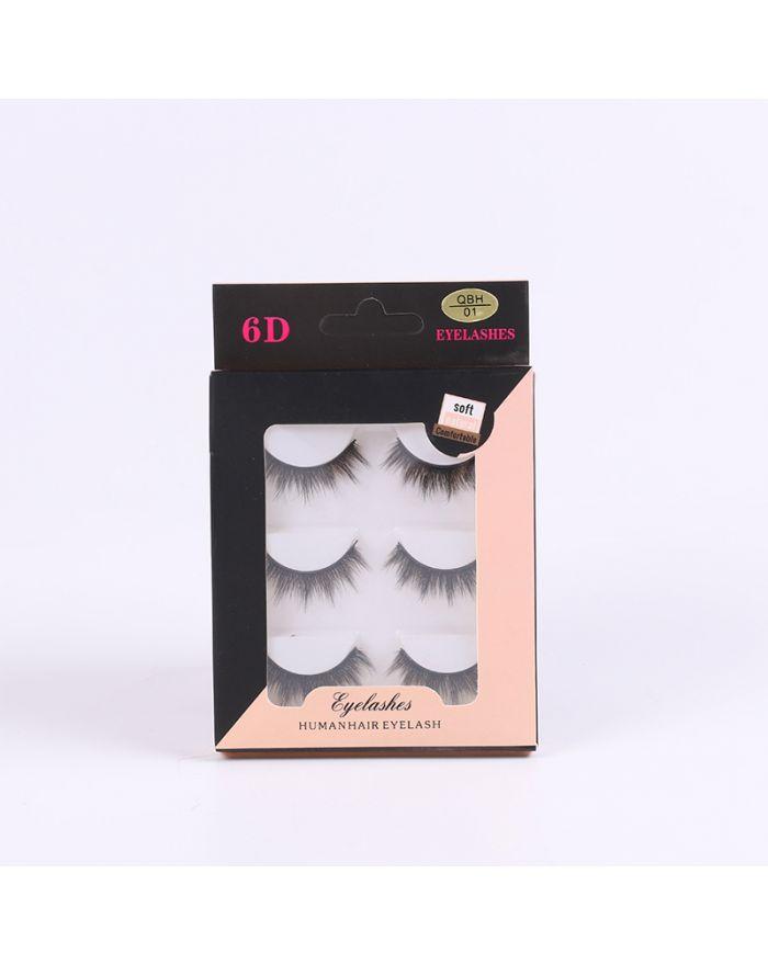 6D chemical fiber grafting eyelashes