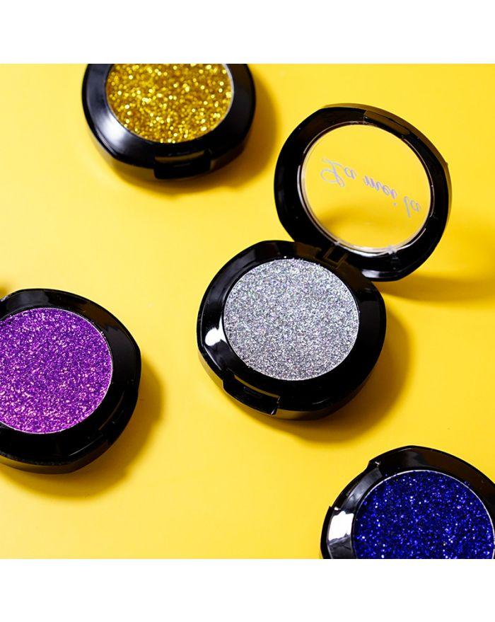 Diamond glitter monochrome eyeshadow