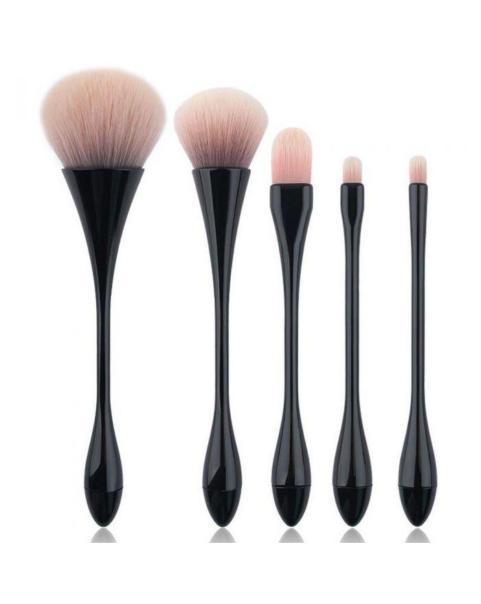 5pcs threaded beauty tool makeup brush