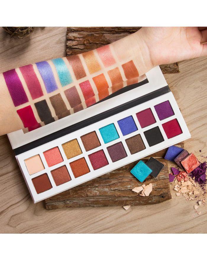 OEM logo 16 color eyeshadow