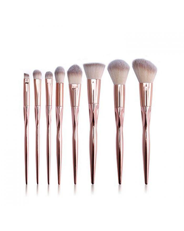 8-piece makeup brush set