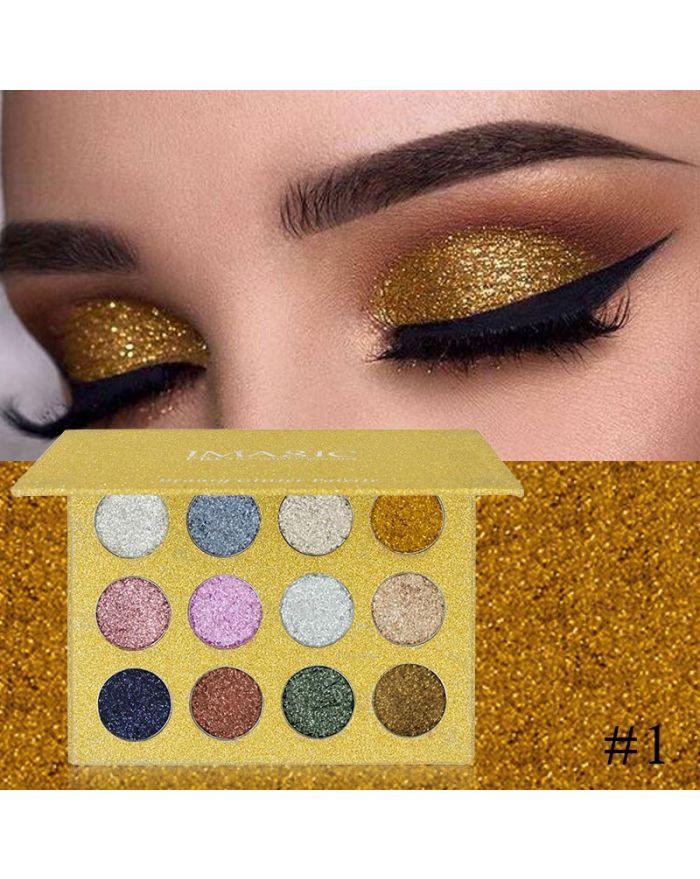 12-color eyeshadow palette