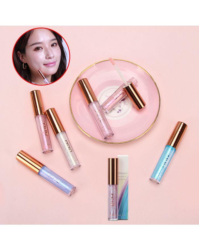 Polarized lip gloss moisturizing lip glaze