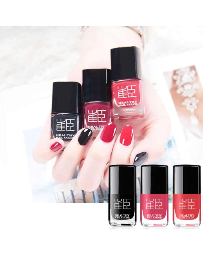 2 pcs peelable water-based nail polish set