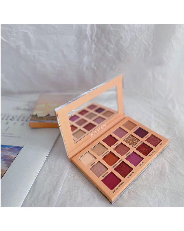 Desert Rose 15-color eyeshadow palette