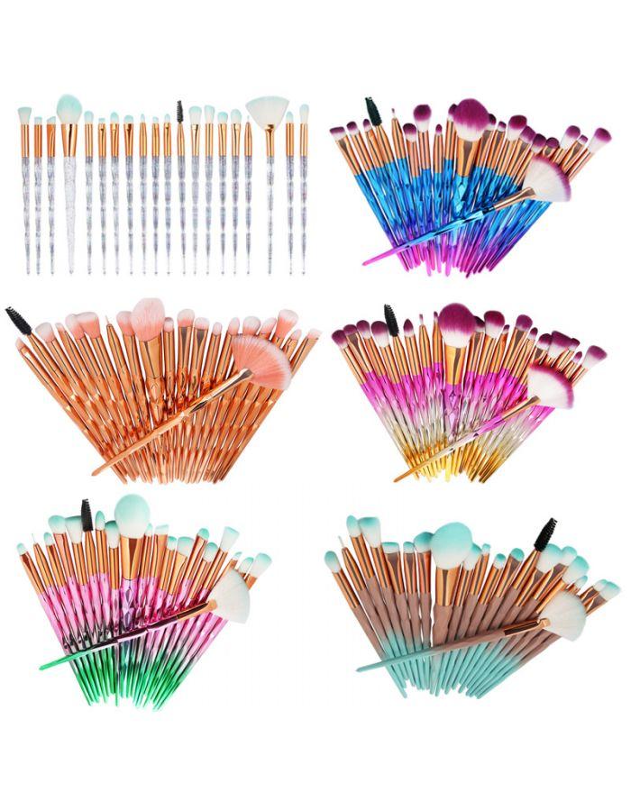 20pcs Makeup Brushes Makeup Brushes Kit Cosmetics Makeup Brush