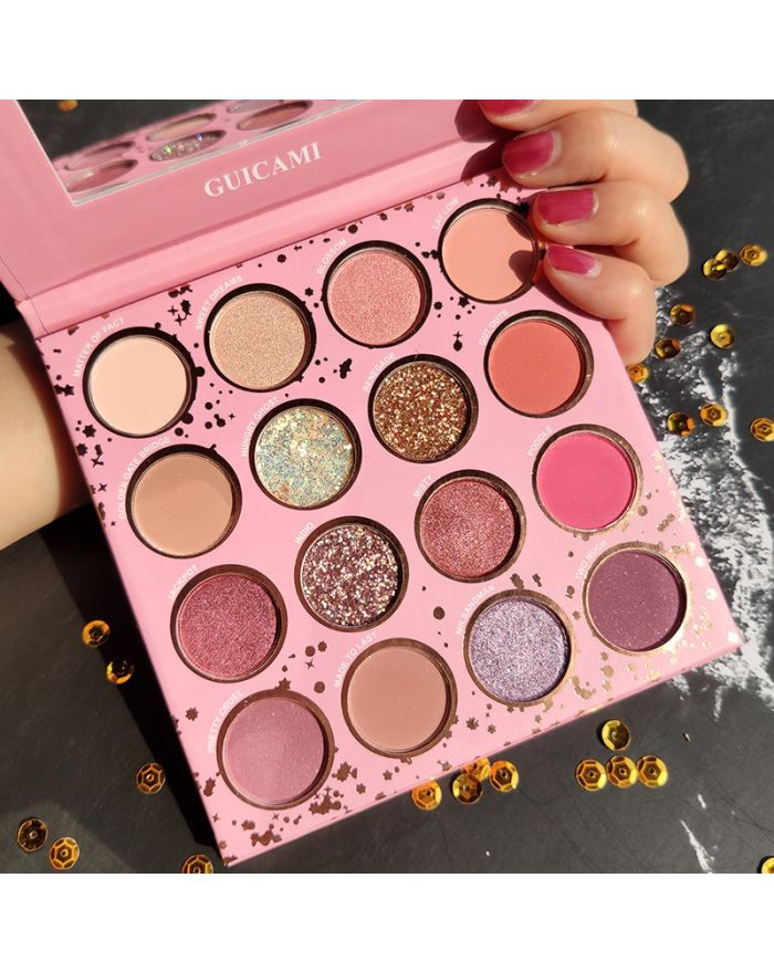 Three Realms of Sixteen Color Eye Shadow Palette