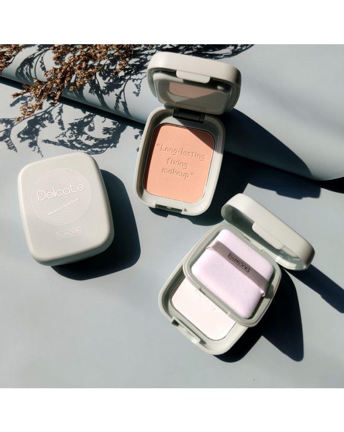 Matte makeup pressed powder